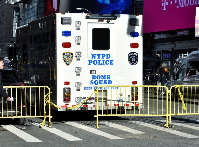 At 7:20 am this morning a man set off a pipe bomb strapped to his chest within the corridors of the Times Square Port Authority station.