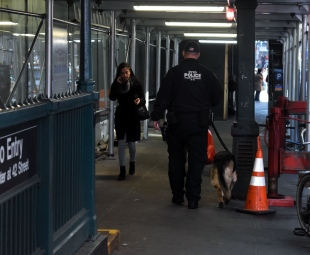 Mayor DeBlasio arrived on the scene and issued a statement, saying that Ullah acted alone and that no other explosive devices had been found.